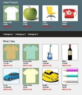 wpStore  WordPress E-commerce  online    feature  Widget  