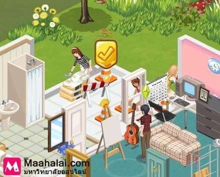 The Sims Social ตอนที่ 9 วิธีขยายพื้นที่ในบ้าน