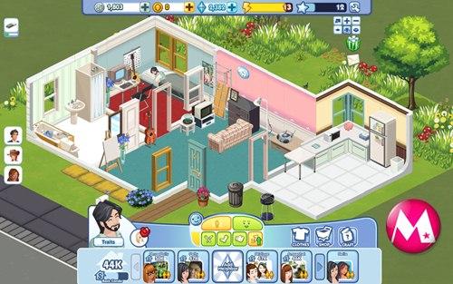 The Sims Social ตอนที่ 14 Display และการตั้งค่าพื้นฐาน
