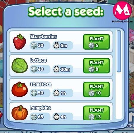 The Sims Social ตอนที่ 20 แนวคิดการทำรายได้จากแปลงผัก