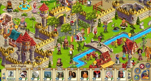 Castleville  Zynga  CityVille  FarmVille   Castleville   