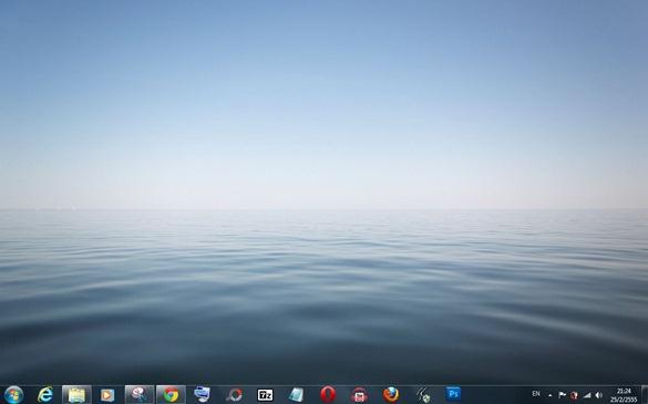 Windows 7 : วิธีเปลี่ยนภาพพื้นหลัง