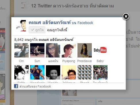 Facebook Page Promoter Lightbox ปลั๊กอินแสดงกล่องแฟนเพจ ให้คนกด Like ก่อนชมเว็บ