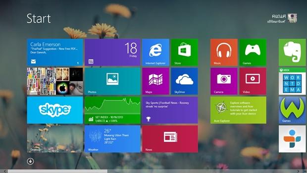 สัมผัส Windows 8.1 มีอะไรที่น่าสนใจ