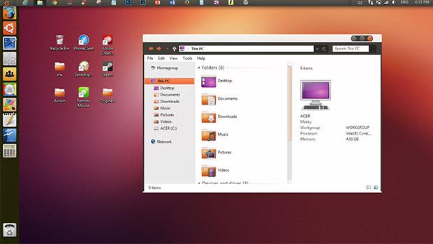 แปลงโฉม Windows 8 ให้เป็น Ubuntu