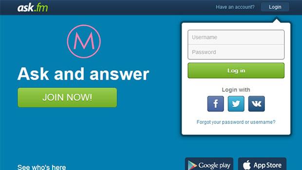 Ask.fm เล่นถามตอบสนุกๆ