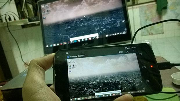 ควบคุมคอมพิวเตอร์ผ่านมือถือ Android ด้วย Chrome Remote Desktop