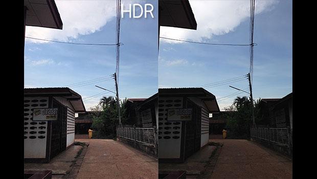 ฟ้าครึ้ม ภาพมืด แก้ได้ด้วยโหมด HDR จากกล้องมือถือ
