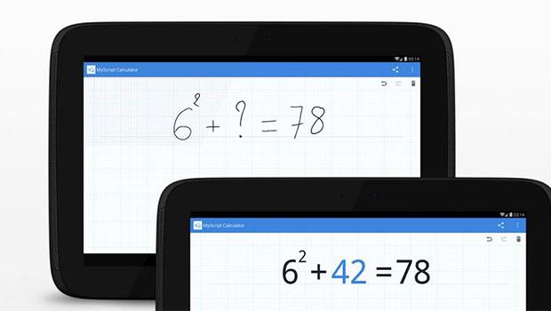 MyScript Calculator ทดเลขง่ายๆ ด้วยลายมือของคุณเอง