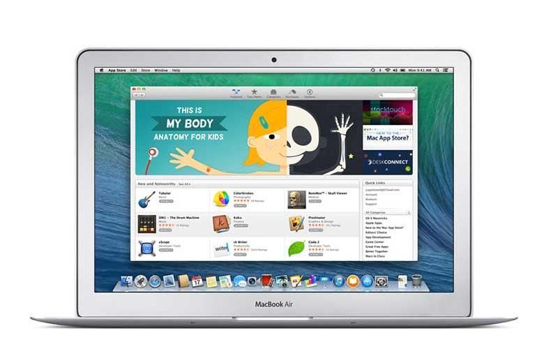 วิธีซื้อแอพบน Mac App Store