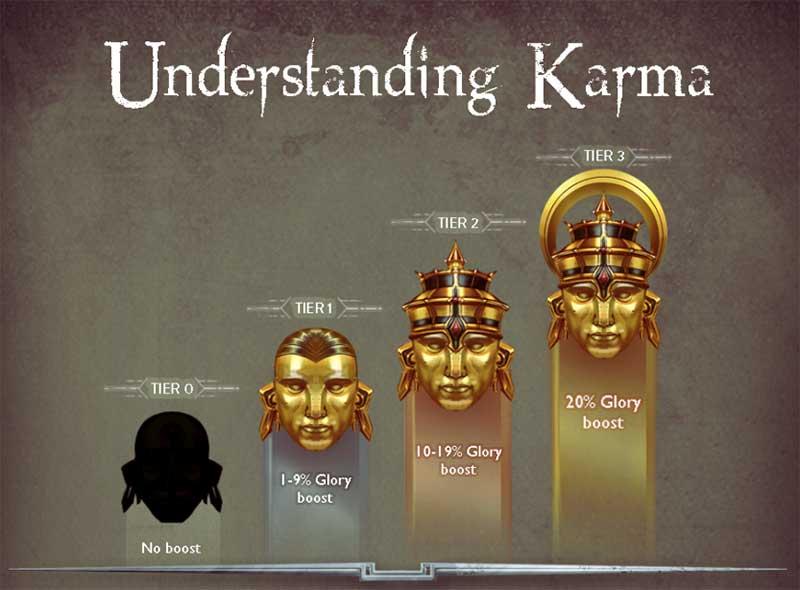 ค่า Karma และผลที่มีต่อเกม Vainglory