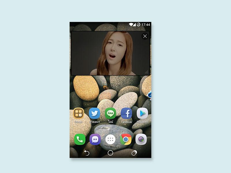 ดูคลิป YouTube + เล่นเฟสบุ๊คบน Android ในเวลาเดียวกันได้ด้วย Baidu Browser