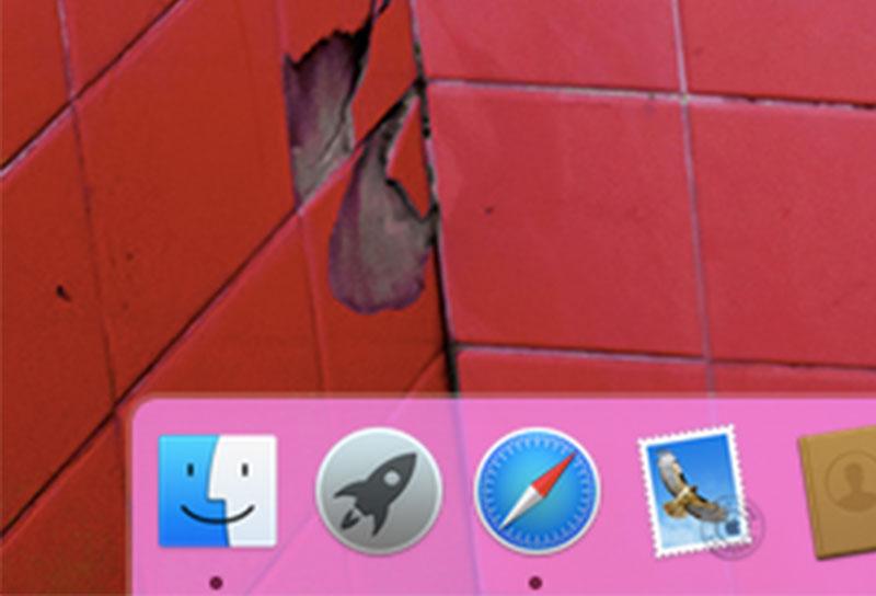 วิธีเปลี่ยน Dock บน OS X Yosemite  ให้มีสีสันด้วยแอพ cDock