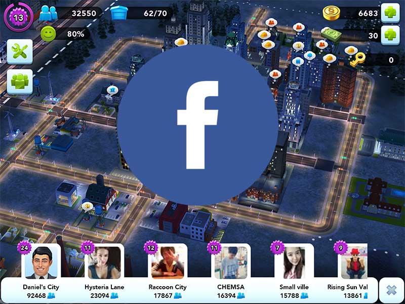 SimCity Buildit วิธีเพิ่มเพื่อนจาก Facebook