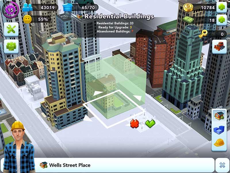 วิธีลบบ้านในเกม SimCity Buildit