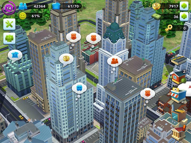 SimCity Buildit วิธีขยายพื้นที่