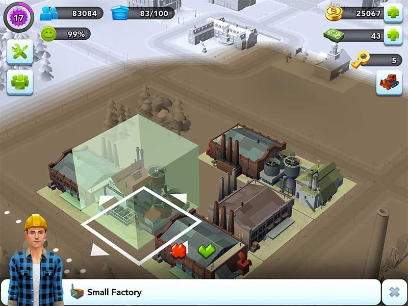SimCity Buildit วิธีเปลี่ยนโรงงาน เพื่อเพิ่มกำลังการผลิต