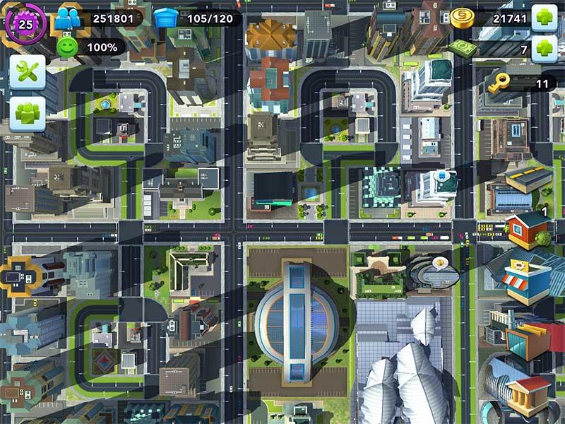 SimCity Buildit รีวิวผังเมืองเกาหลี