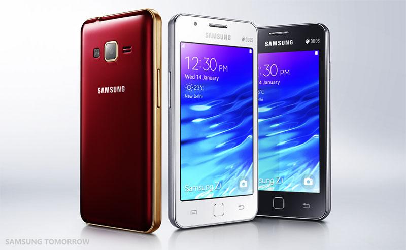 มาแล้ว Samsung Z1 สมาร์ทโฟนตัวแรกที่ใช้ระบบ Tizen