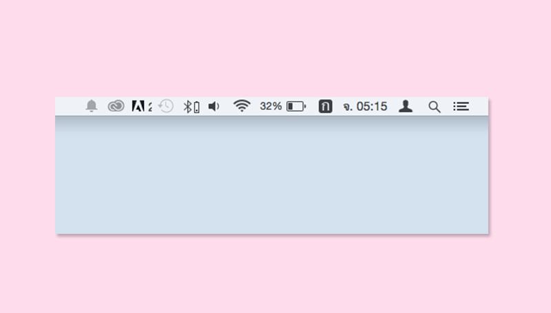 Mac Tip : วิธีย้ายและลบไอคอน บนแถบเมนู