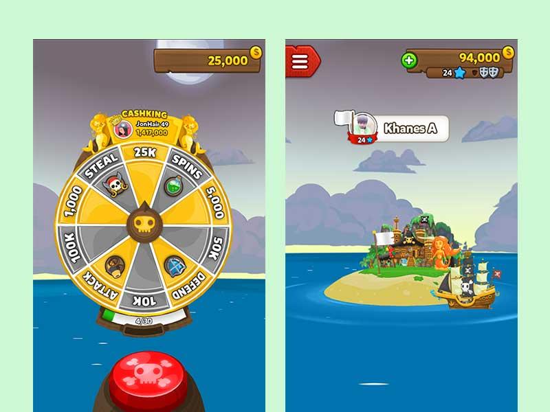 รีวิว Pirate Kings โจรสลัดสุดสนุก เกมฟรีสำหรับ iOS และ Android
