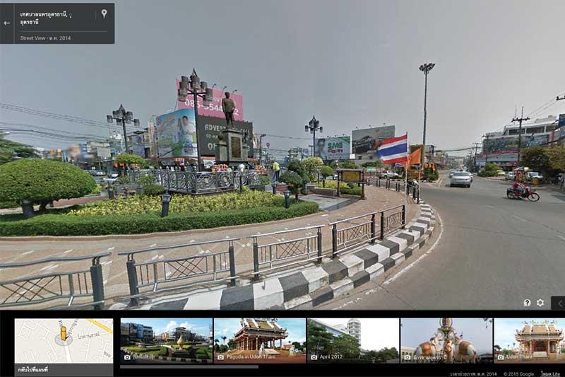 อุดร ขอนแก่น และอีกหลายจังหวัดในอีสาน ดูแผนที่ Google Street View ได้แล้ว