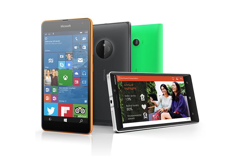 เผยรายชื่อสมาร์ทโฟน Lumia 10 รุ่นแรกที่จะได้อัพเดท Windows 10