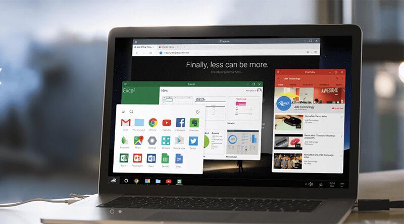 Remix OS ระบบปฏิบัติการคอมพิวเตอร์ ที่แปลงมาจาก Android จะเปิดให้โหลดไปใช้ฟรี
